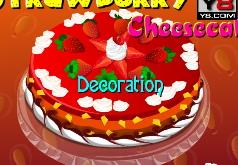 чизкейк лесные ягоды рецепт игра