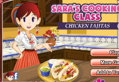 Игра Кухня Сары Фахитас из Курицы
