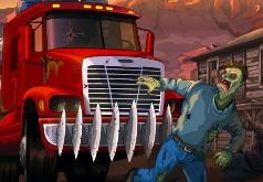 игры красная машинка и зомби