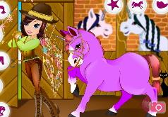 игры про лошадей цирк