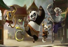 Игры Кунг фу Панда найти отличия