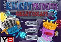 Игры Принцесса рыцаря Большое Спасение 3