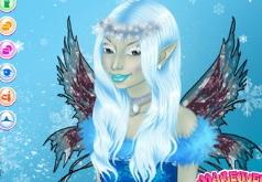Игры Красивая зимняя фея