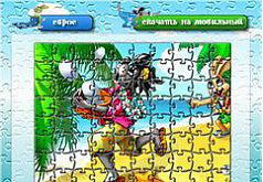 Игра Ну Погоди: Пазл 3