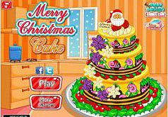 Игры Торт на Рождество