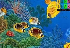 Игра Прекрасные Океанские Рыбки