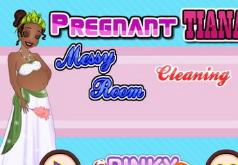 Игры Уборка в детской комнате принцессы Тианы