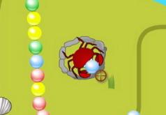 игры краб и разноцветные жемчужины