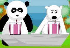 Игры Панда против медведя