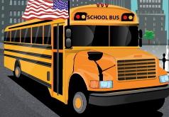 игра желтый автобус