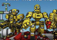 Игры аркады - Битва роботов