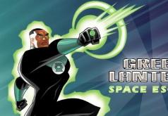 Игры Супергерои Космический побег Зеленого Фонаря