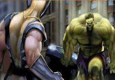 Игры Zero Vs Wolverine