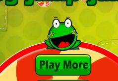 Игры Ам Ням 3 Прыгающая лягушка
