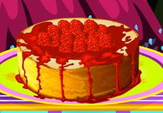 игры пирог с малиной