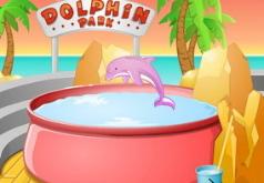 игры для девочек дельфин и шарики
