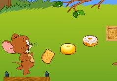 Игра Том и Джерри прыжки за сыром