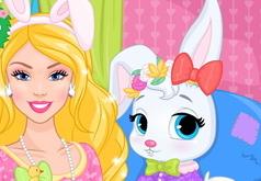 Игры Барби ухаживает за кроликом
