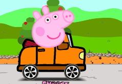 Игра Свинка Пеппа Сумасшедшие гонки