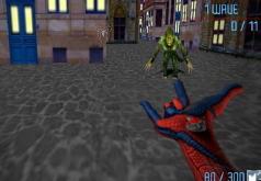 игра человек паук против зеленого гоблина