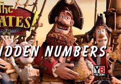 Игры Пираты найти числа