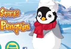 Игры Звездные животные малыш пингвин