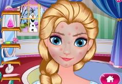 Игра Время макияжа для Эльзы