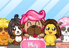 детская игра парикмахерская для животных
