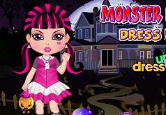 игры для девочек малыши монстры хай
