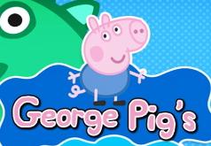 Игры Приключения Джорджа|бродилки|свинка пеппа
