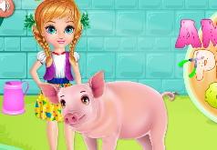 Игры Свиная забота Amelia