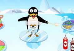 игры для девочек готовим еду пингвины