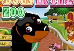 Игра Собаки в зоопарке
