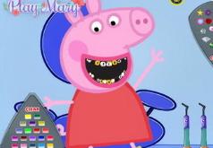 Игры лечить зубы свинка пеппа