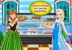 Игры Анна и Эльза готовят десерт