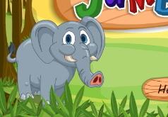 игры накорми слонят