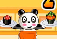 игры панда готовит еду