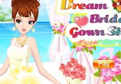 игры показать свадебное платье мечты