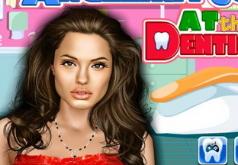 Игры Анжелина Джоли у стоматолога