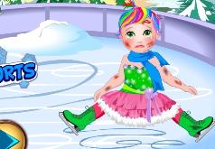 Игра Малышка Джульета зимний спорт