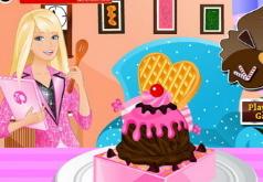 игры делать мороженое барби