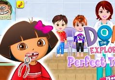 Игра Идеальные зубы Доры
