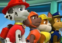 Игра Пазл: Отряд щенков к делу готов