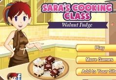 Игры Кухня Сары Ореховая Помадка