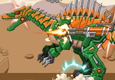 Игры Роботы динозавры спинозавр