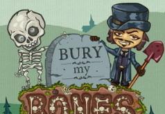 игры закапывать скелета