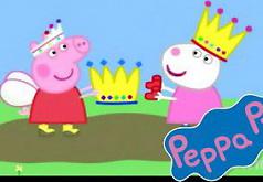 Игры Пеппа считает овец