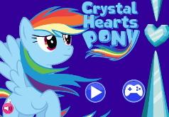 Игры Мой маленький пони Кристальные сердца