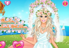 Игра «Одевалка: Свадьба на берегу моря»