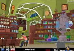 игры аниме лаборатория побег